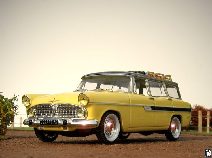 Simca Vedette Marly Wagon 1959.