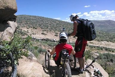 Handcycle Beck's Trail, Hartman Rocks, Gunnison, Colorado. >>> See it. Believe it. Do it. Watch thousands of SCI videos at SPINALpedia.com
