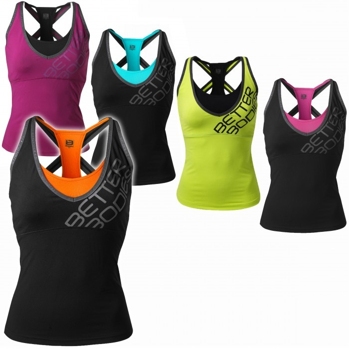 Better Bodies Support 2-Layer Top : Gym Star Apparel Canada