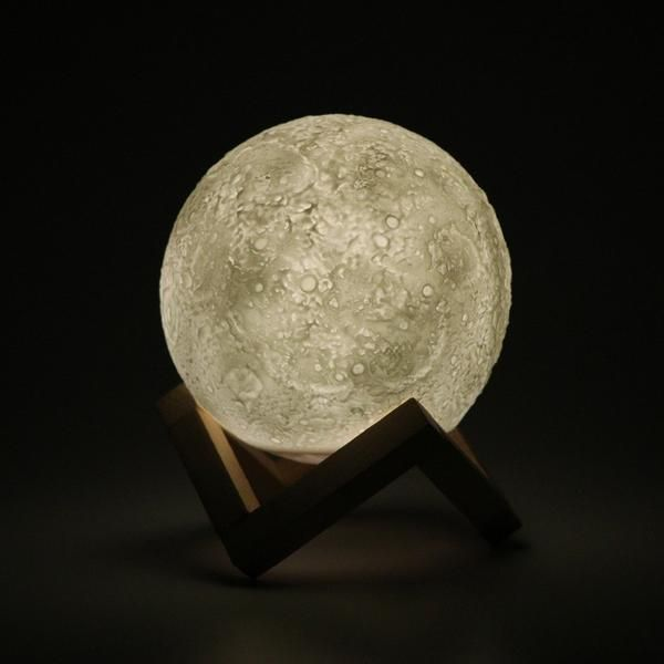 Micromake 3d Print Moon Lamp Led Night Lamp Night Lamps Lamp