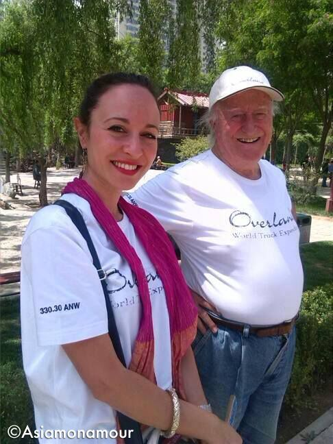 Membro del team di #Overland15: Teresa, la nostra preziosa interprete e guida nell'avventura cinese che si sta svolgendo proprio in questi giorni. Alcune foto dei nostri contenuti sul viaggio sono scattate da lei per il suo blog Asiamonamour. E poi c'è Beppe Tenti... che non ha bisogno di presentazioni! www.overland.org/spedizioni/overland-15.html