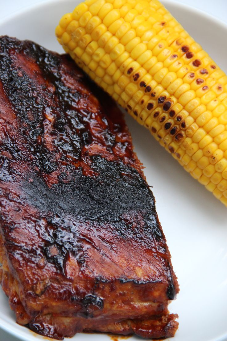 Sparerib and corn - Sparerib en mais