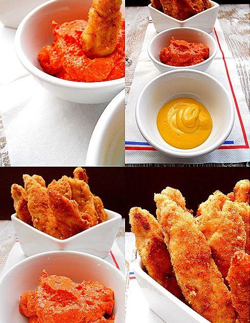 Τηγανιτά ή στο φούρνο…. Υλικά 600 γρ. στήθος κοτόπουλο 150 γρ. γιαούρτι στραγγιστό αλάτι,πιπέρι σκόρδο σε σκόνη ή περ...