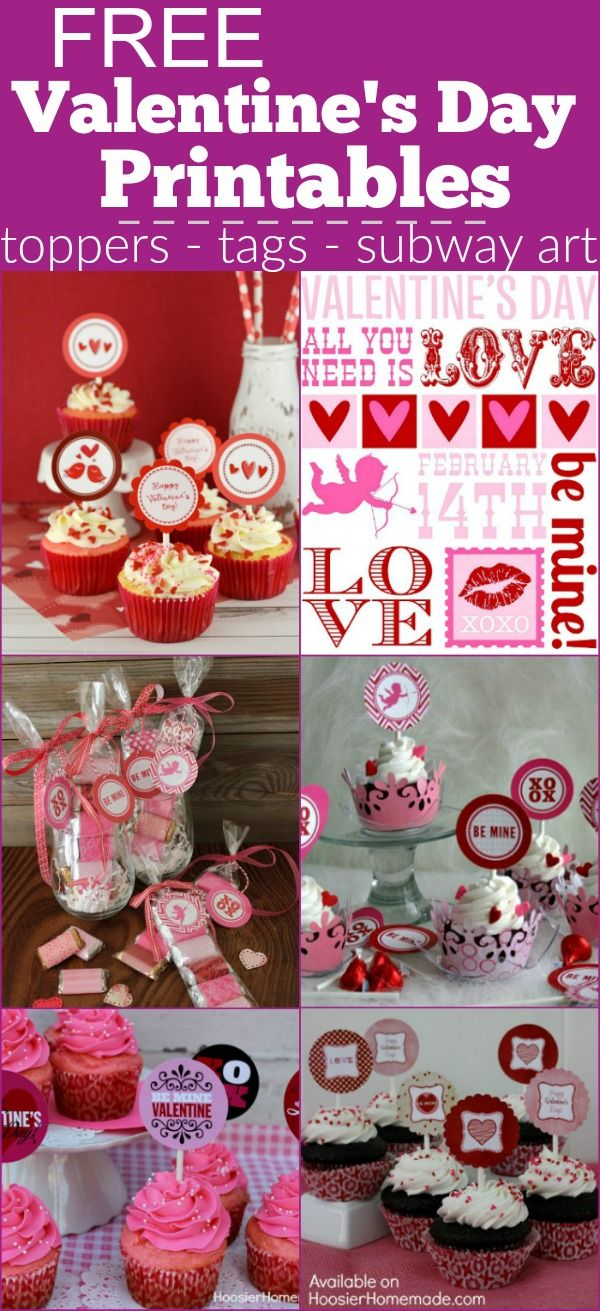 Free Valentines Day Printables Party Printables Subway