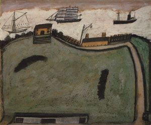 Alfred Wallis The Island