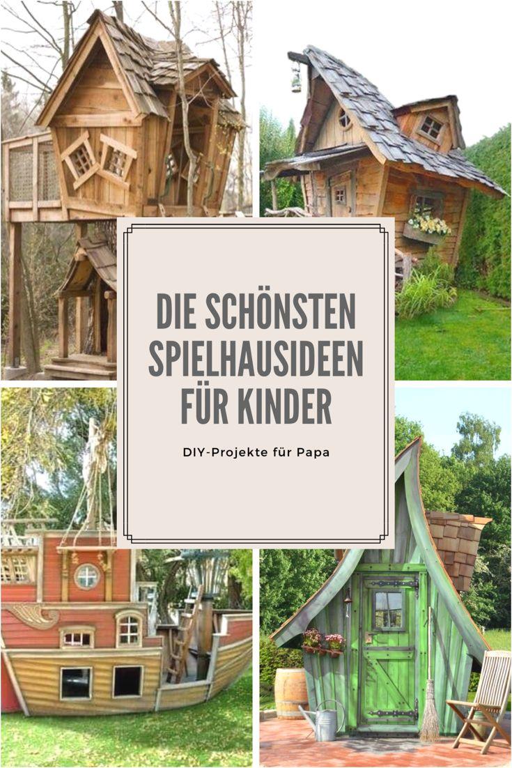 Abenteuer und Fantasiegeschichten sind mit diesen Spiel- und Baumhäusern garantiert. Die schönsten für euch in einem Blogpost zusammengefasst.