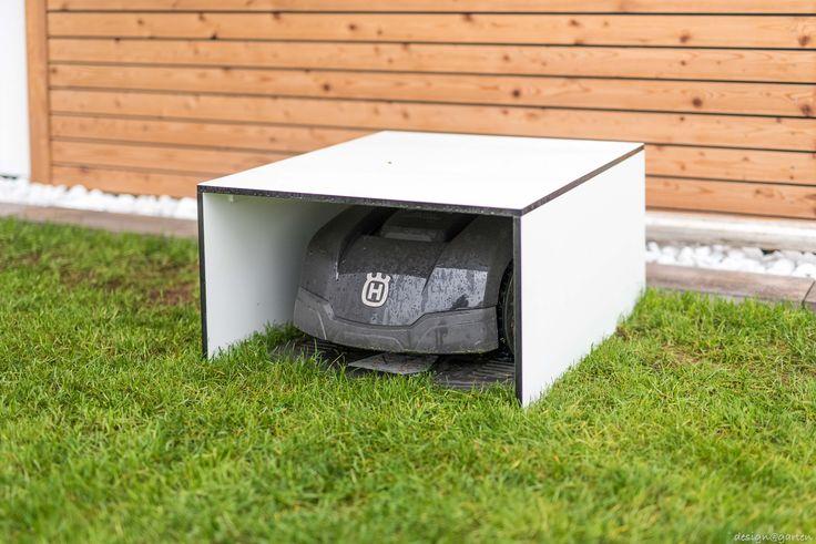 Garage für Mähroboter by design@garten