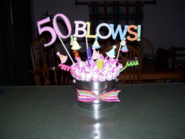 Birthday Gift Baskets 50th