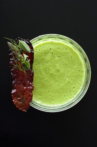 Asparagus and Pea Soup Asparagus and Pea Soup