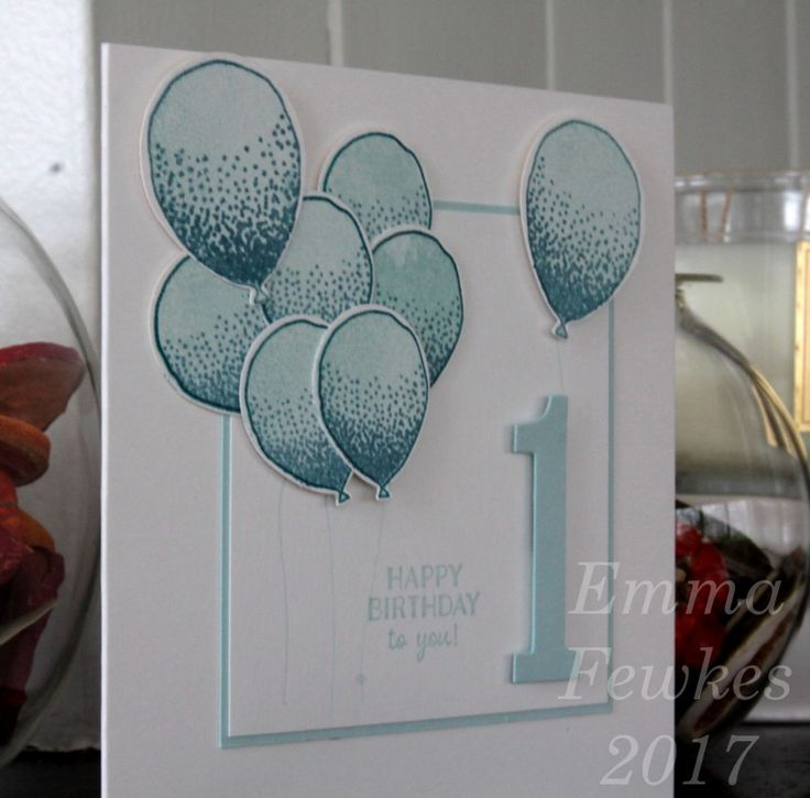 how to write a first birthday card