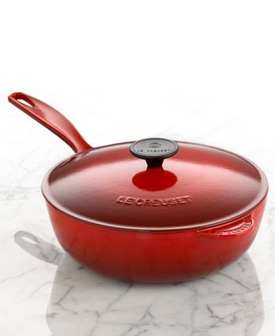 Le Creuset Enameled Cast Iron 3 Qt. Covered Saucier - Sale & Clearance - For The Home - Macy's