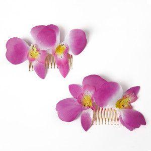Peinecillos Orquideas Moradas