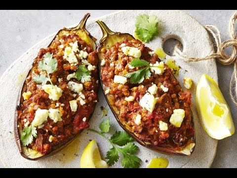 Aubergine Stuffed With Spicy Lamb | Easy Cook With Chef Atul Kochhar - YouTube