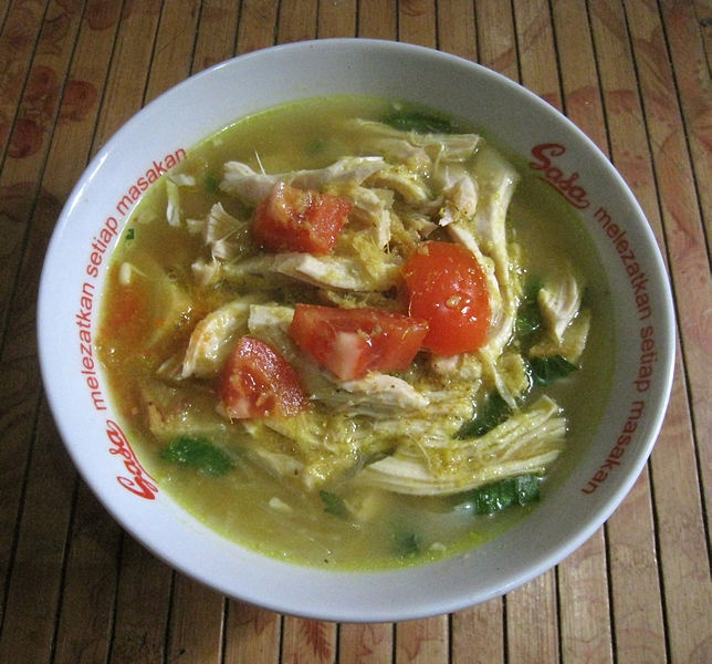 home made Soto Ayam (chicken soto), Indonesia - Gunawan Kartapranata