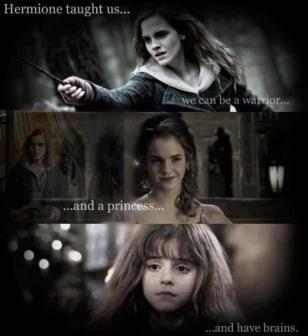 Hermione Granger - because just getting the Prince is overrated.