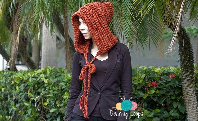 DIY: crochet chunky hoodie