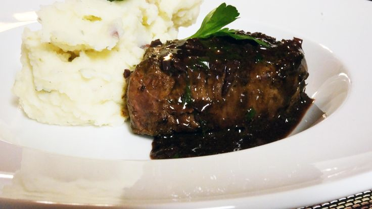 Filet Mignon in Bordelaise Sauce from Saveur Magazine. DELICIOUS!