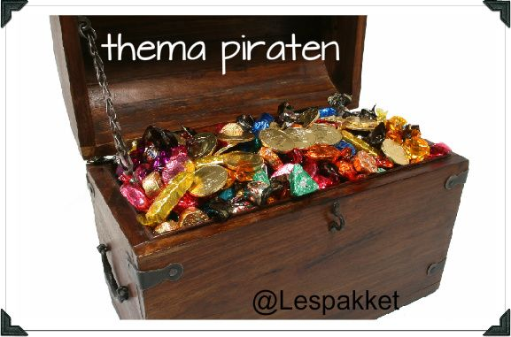 thema piraten - Lespakket