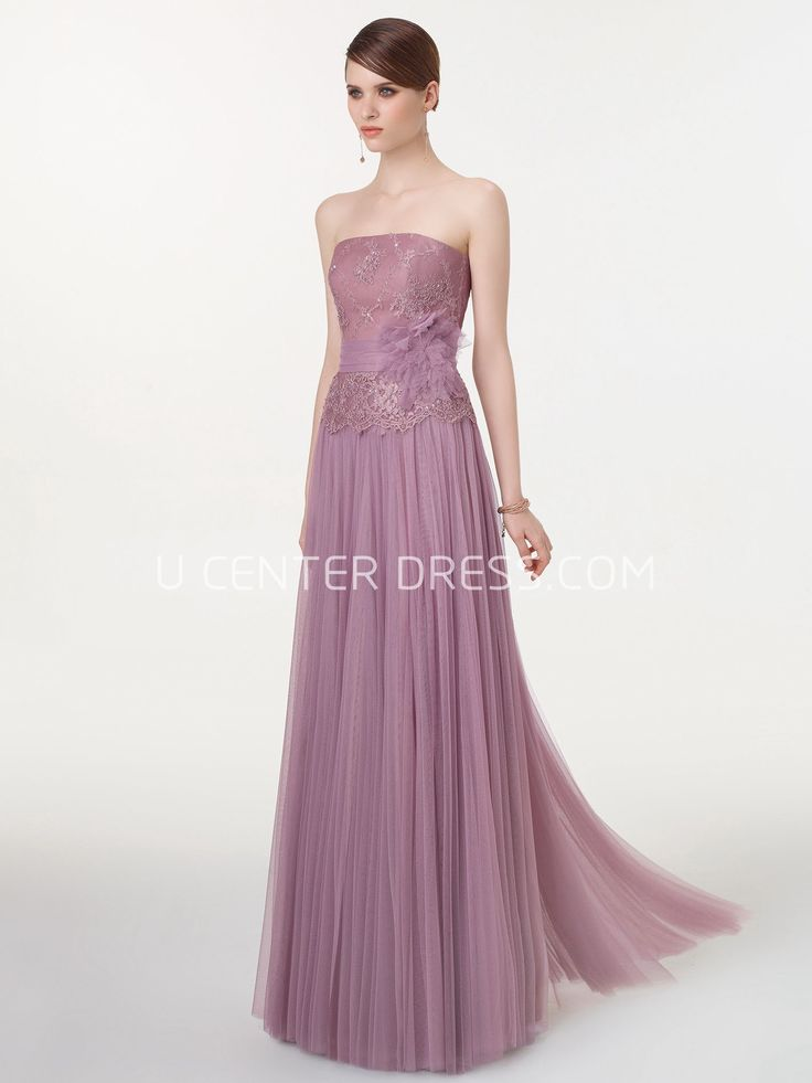 $105.29-Ethereal Zora Strapless Purple Tulle Prom Dress with Belt. http://www.ucenterdress.com/ethereal-zora-prom-dress-pMK_300777.html.  Shop for cheap prom dresses, party dresses, night dresses, maxi dresses, little black dresses, junior prom dresses, girls prom dresses, designer prom dresses for sale. We have great 2016 prom dresses on sale. Buy prom dresses online at UcenterDress.com #prom #dress today!