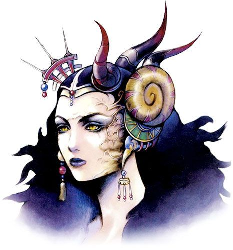Week 8 - Final Fantasy VIII - Concept Art Mon - Edea