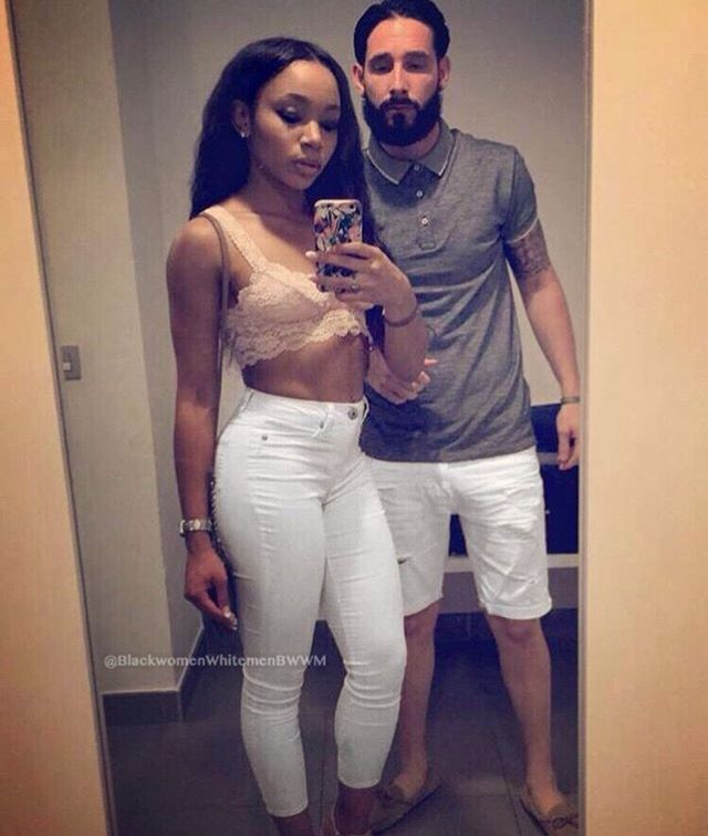 Beautiful interracial couple #love #wmbw #bwwm                                                                                                                                                                                 More