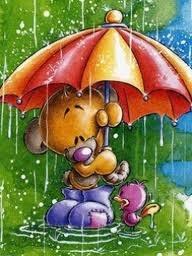 Pimboli Rain 240x320 wallpaper