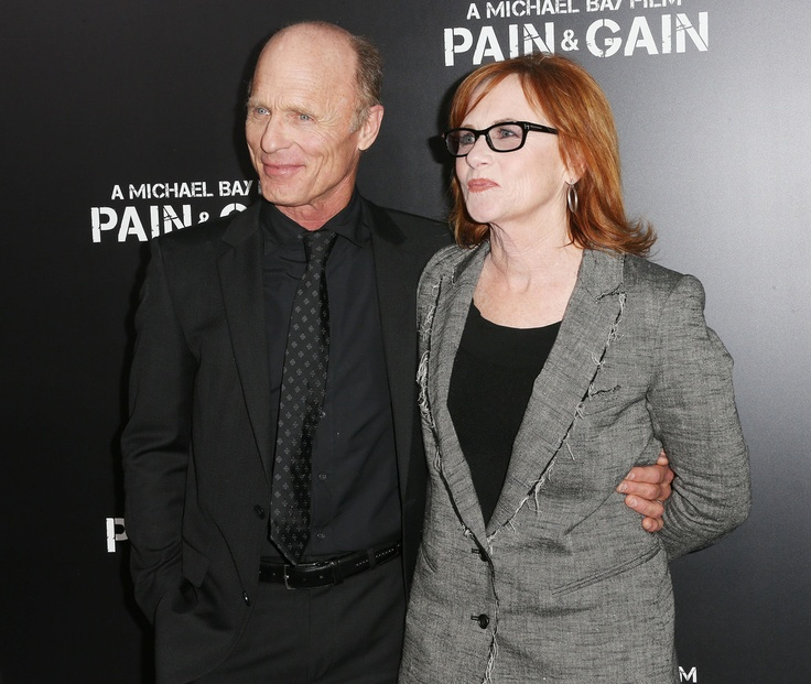 Ed Harris and Amy Madigan at last nights' Pain and Gain NL Premiere | Hair, Makeup and Grooming by Eric Barnard