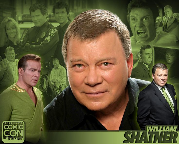 *PIN to WIN* Celebrate StarTrek's 50th anniversary with William Shatner at #SLCC16! #utah
