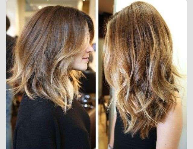 Long bob capelli ricci o mossi 2014 (Foto 17/43) | PourFemme