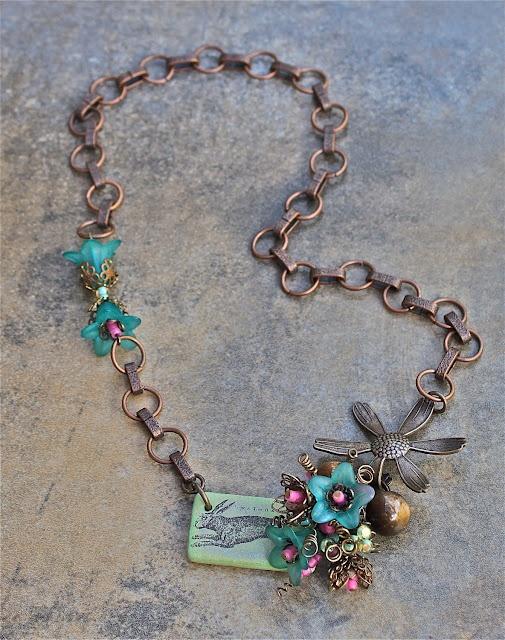 Necklace: Sweet Design for Spring