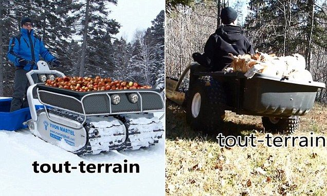 French Canadian inventor creates a all-terrain motor vehicle