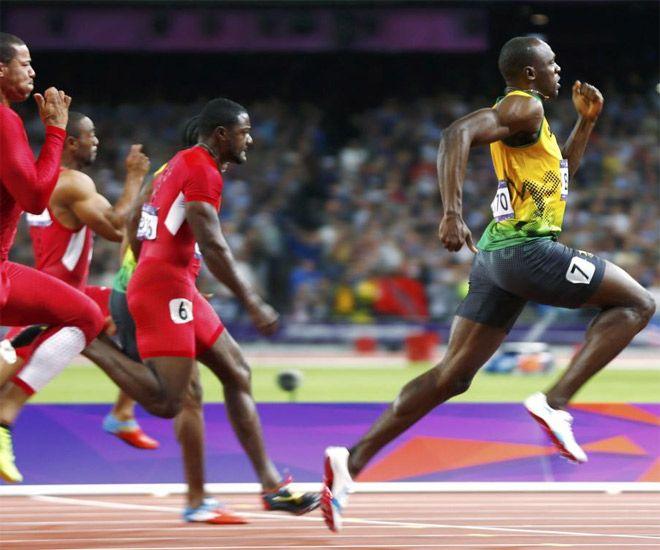 Usain Bolt. Y el día que no mire atrás?