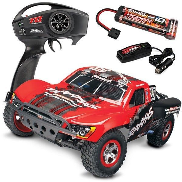 Traxxas Slash RTR 58034-1 Short Course 1/10 Truck w/QUICK CHARGER - MARK JENKINS #Traxxas