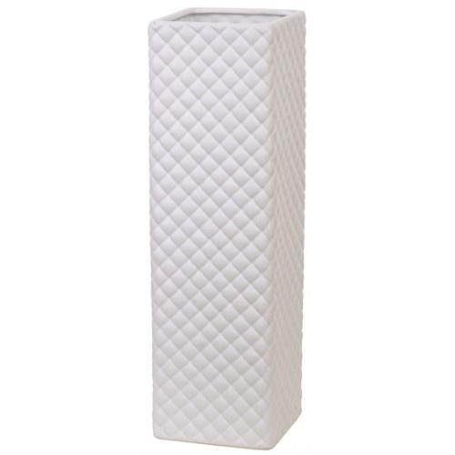 White Diamonds Vase - Large £49.99