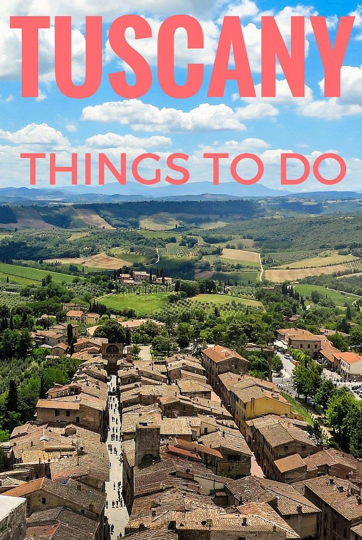 List of things to do in Tuscany and the best places to visit in Tuscany as well as lots of practical information to help you have a fantastic vacation! http://www.wheressharon.com/europe-with-kids/places-to-visit-in-tuscany/