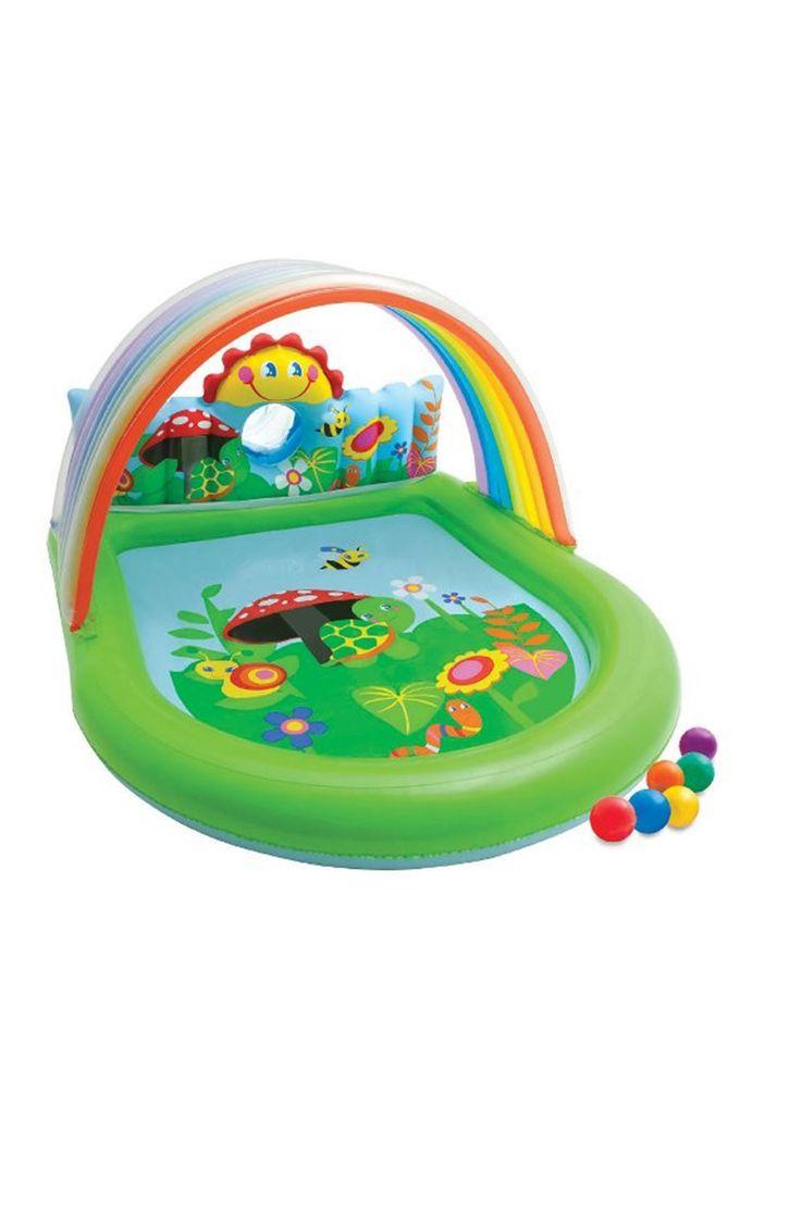 Gökkuşağı Oyunlu Bebek Havuzu