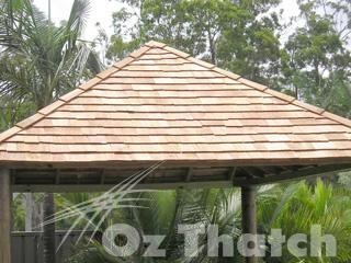 4mt Gazebo with Timber Shingles