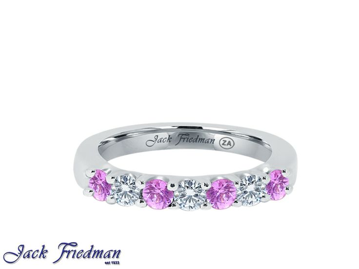 An eternity band is a visible sign of the love and eternal commitment that two people share. www.jackfriedman.co.za