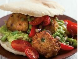 Recipe Details: Chickepea Falafel Pita Bread using chick pea,seasonings