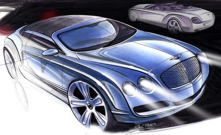 Bentley Gtc Sketch Raul Pires 2006 Dutch Colonial