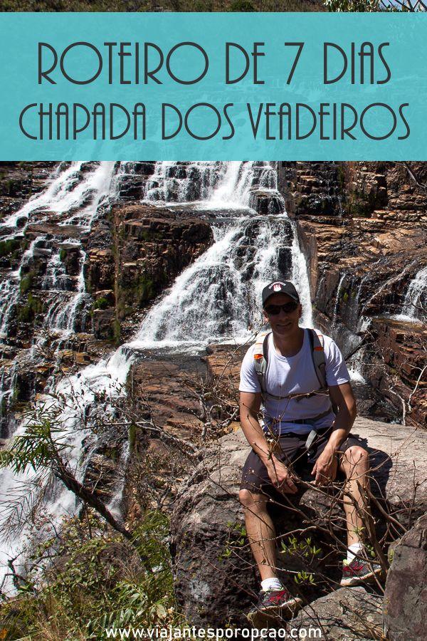 Roteiro Chapada dos Veadeiros 7 dias de cachoeiras em