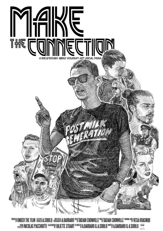 Showcasing the people of the UK's vegan movement + the impact of social media on it.   Check out 'Make the Connection - not your usual documentary' on Indiegogo.