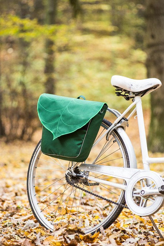 Personalisierte Gepacktasche Taschen Fur Fahrrader Blatt