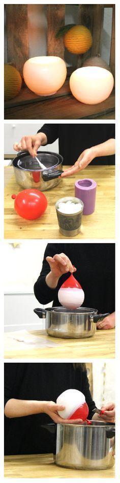 Ein einfaches do-it-yourself Geschenk für gemütliche Abende bei Kerzenschein - die leuchtende Wachsschale von Makerist.de