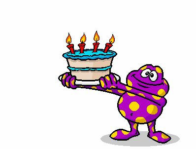 """Send a free birthday eCard in just seconds based on one (or more) of the """"Happy Birthday"""" message ideas from yours truly (me, Message Guy). Description from birthdaymessages.net. I searched for this on bing.com/images"""