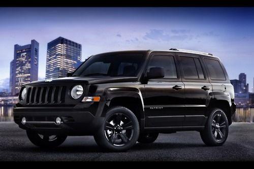 Jeep Patriot - black on black <3