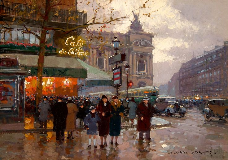 17 best images about opera garnier antoine blanchard edouard l on cort - Cafe de l opera garnier ...
