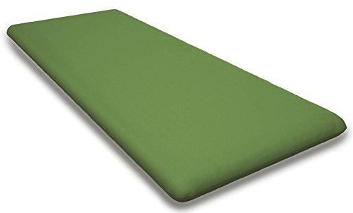 435 in Contemporary Seat Cushion in Canvas Ginkgo -- For more information, visit image link.