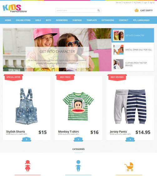 JM-Kids-Fashion-Store, blue template version
