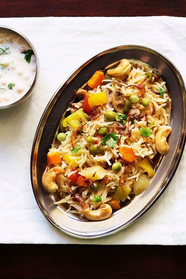 easy vegetable pulao in pressure cooker | veg pulao recipe
